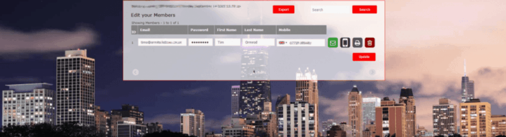 Reception Portal