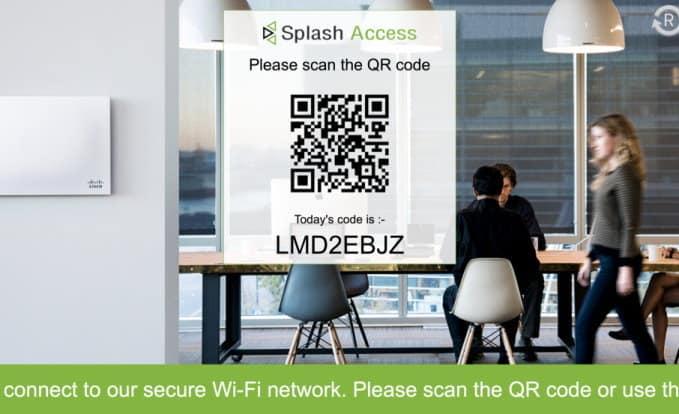 New Secure WPA Guest WIFI - Splash Access